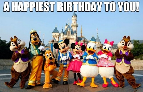 A Happiest Birthday Disney Birthday Meme