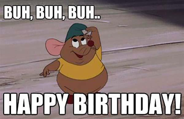 Buh Happy Birthday Disney Birthday Meme