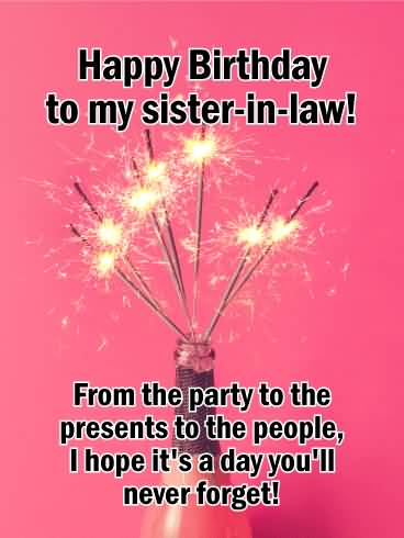 From The Party Happy Birthday Sister In Law Meme
