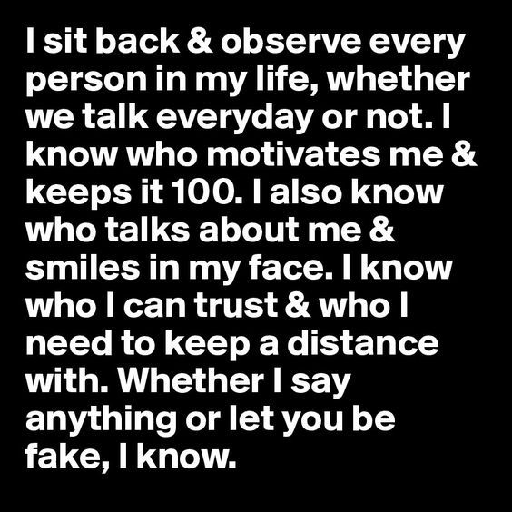I Sit Back Fake People Quotes