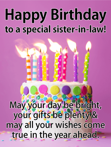 May Your Day Happy Birthday Sister In Law Meme