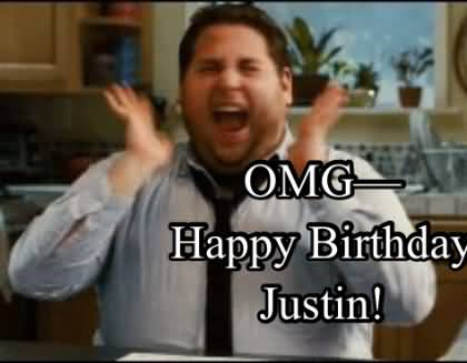 Ome Birthday Justin Happy Birthday Nephew Meme