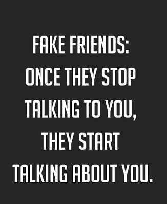 Once They Stop Fake Friend Quotes