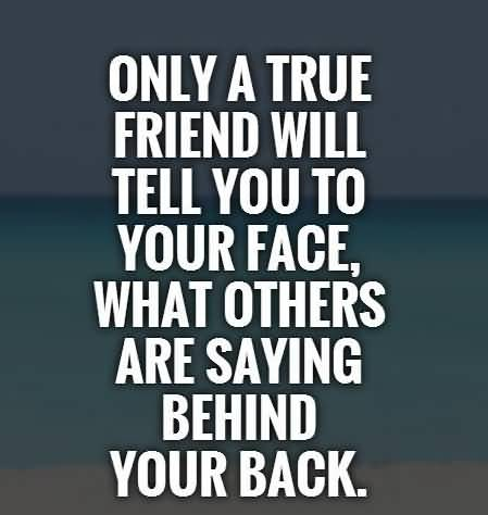 Only A True Fake Friend Quotes