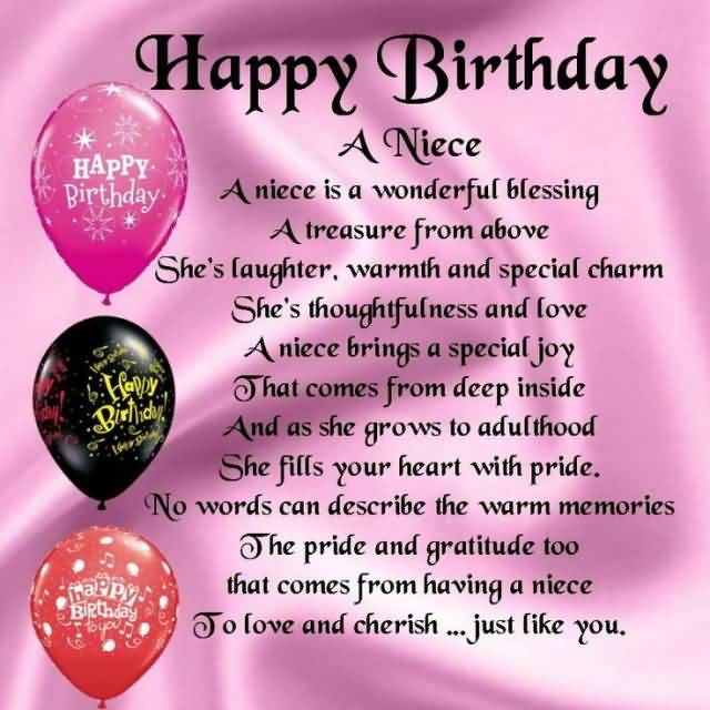 To Love And Cherish Happy Birthday Niece Meme