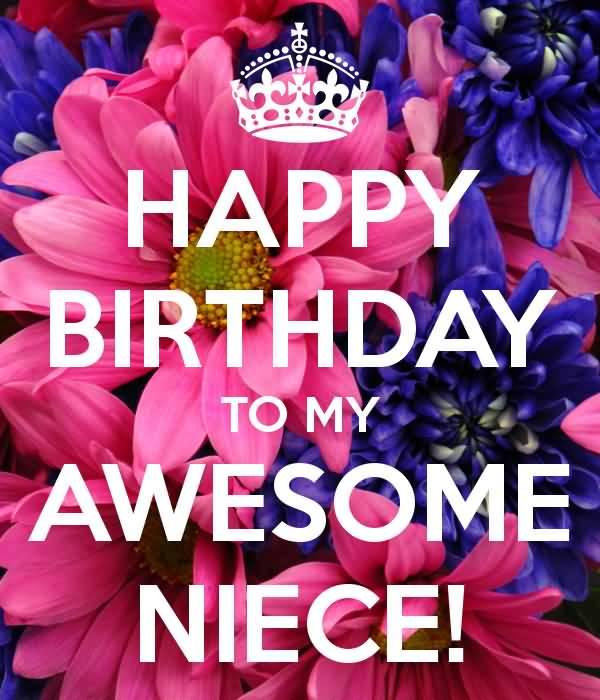 To My Awesome Happy Birthday Niece Meme