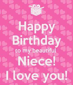 To My Beautiful Happy Birthday Niece Meme