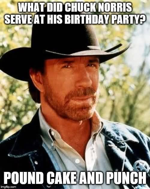 What Did Chuck Chuck Norris Birthday Meme