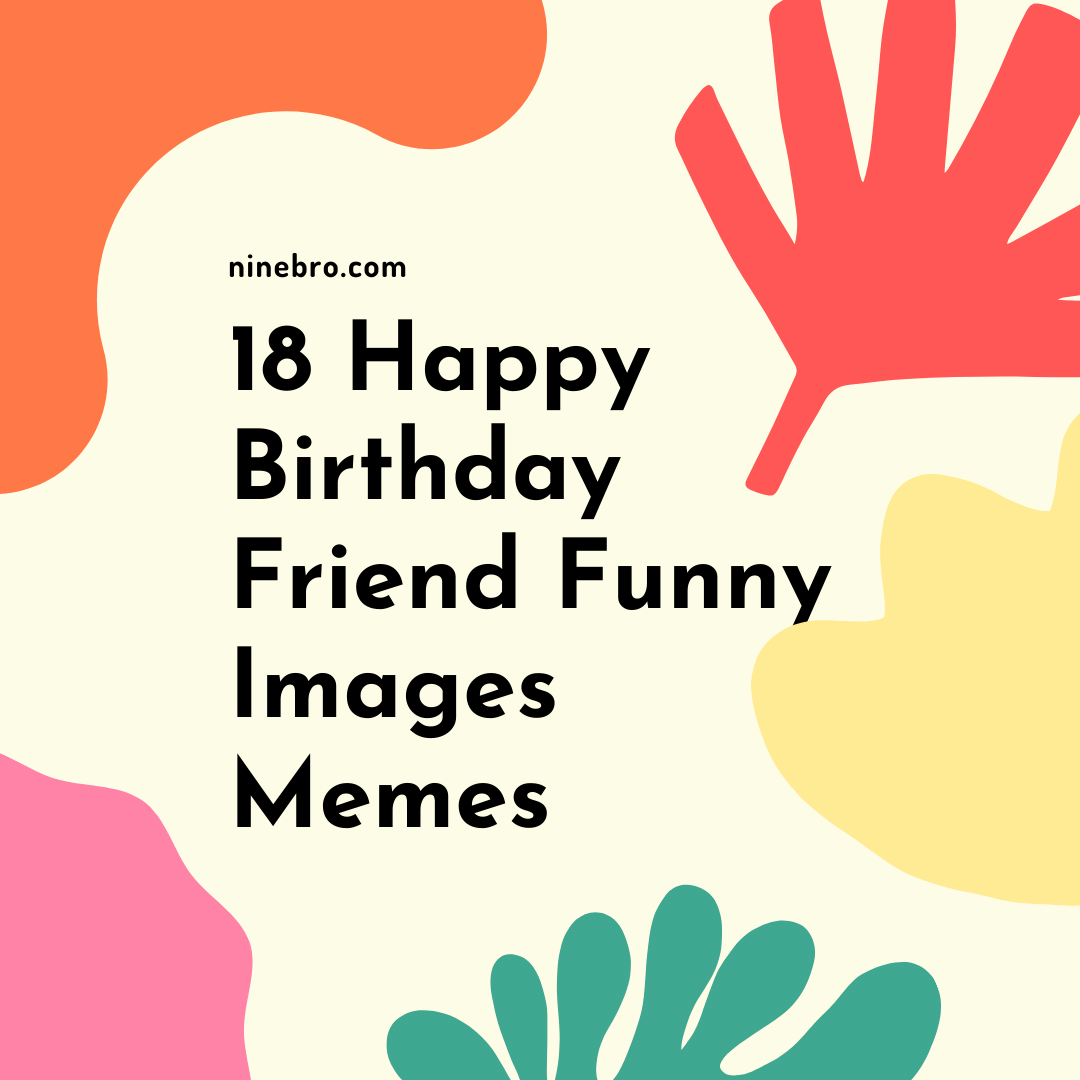 18 Happy Birthday Friend Funny Images Memes
