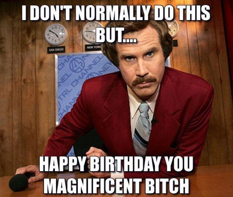 I Dont Normally Do Dirty Happy Birthday Meme