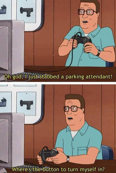 Oh God I Just Stabbed Hank Hill Quotes
