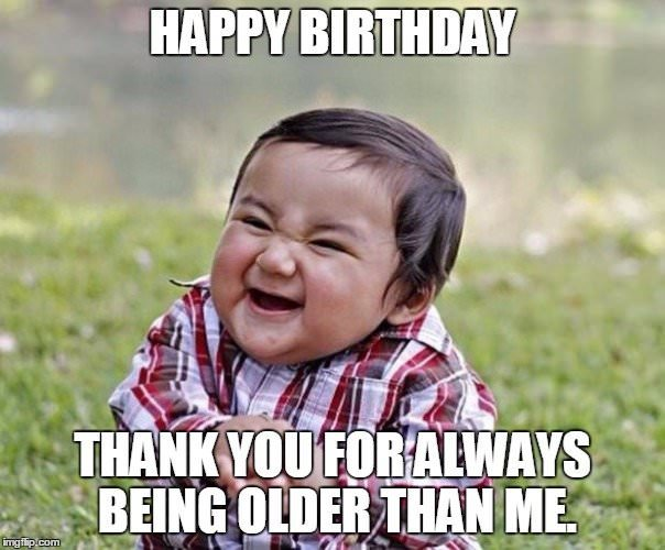 Thank You For Dirty Happy Birthday Meme