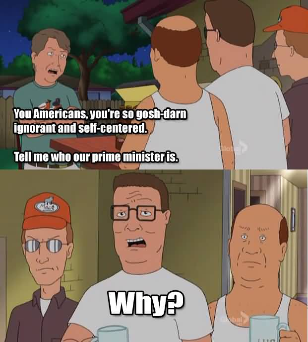 You Americans You're So Hank Hill Quotes
