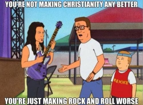 You're Not Making Christianity Hank Hill Quotes