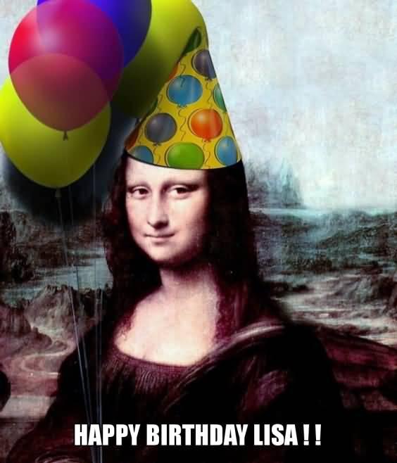 Happy Birthday Lisas Happy Birthday Lisa Meme