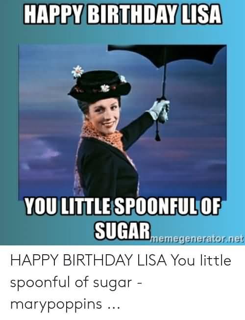 You Little Spoondul Happy Birthday Lisa Meme