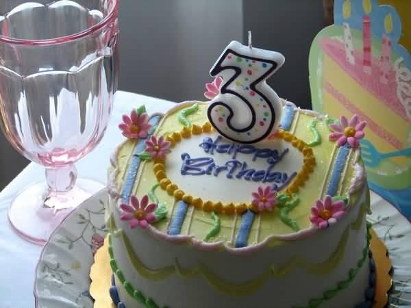 3rd Birthday Cake 3rd Birthday Wishes