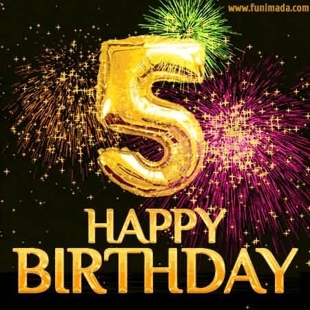5th Happy Birthday 5th Birthday Wishes