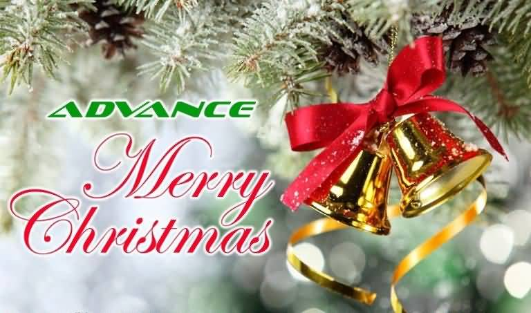 Advance Merry Christmas Bells Advance Merry Christmas Quotes