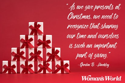 As We Give Presents At Christmas Gift Quotes