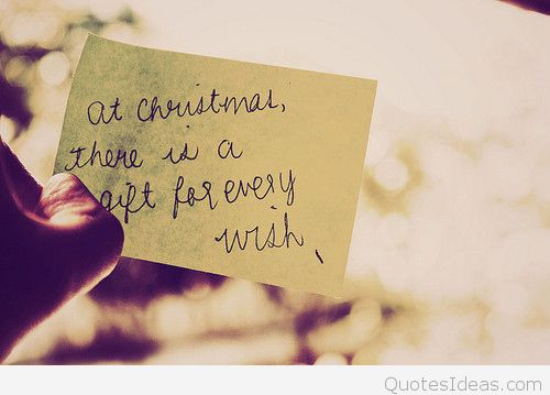 At Christmas There Is A Christmas Gift Quotes