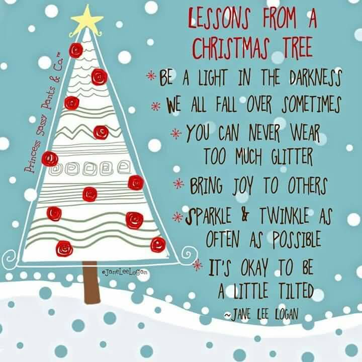 Be A Light In Christmas Tree Quotes