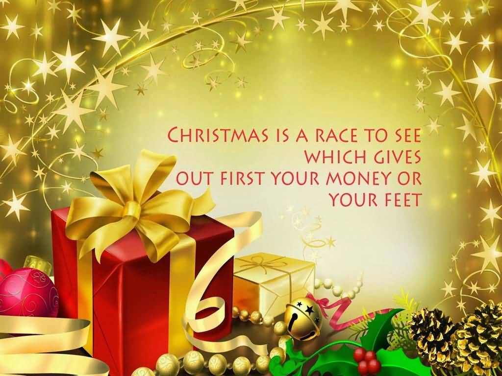 Christmas Is A Race Advance Merry Christmas Quotes