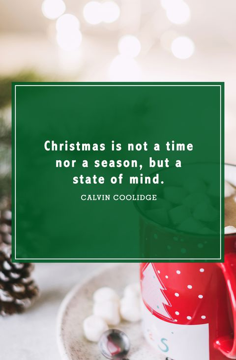 Christmas Is Not A Time Christmas Tree Quotes
