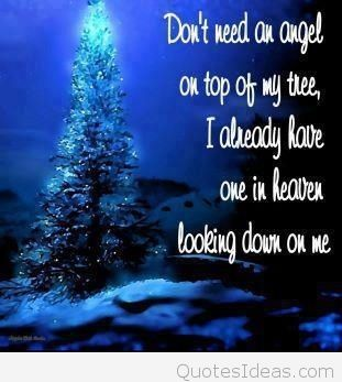 Don't Need An Angel Christmas Tree Quotes