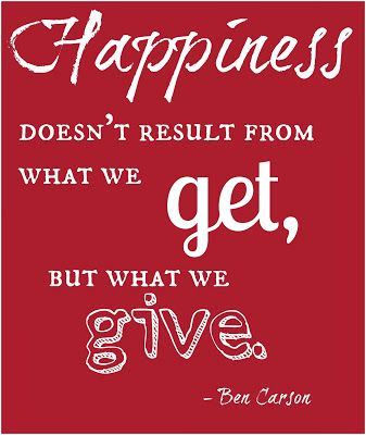 Happiness Doesn't Result From Christmas Gift Quotes