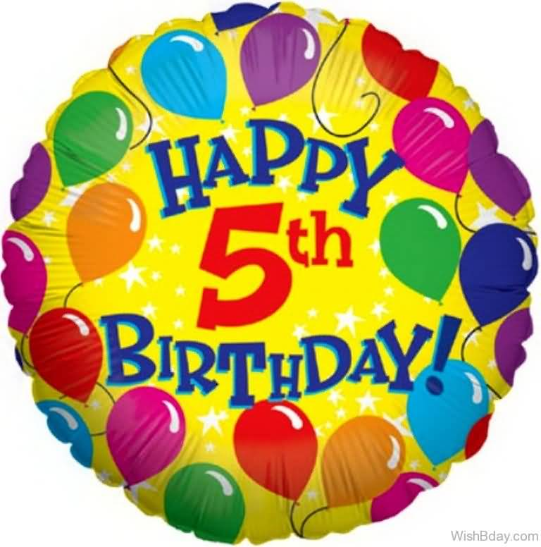 Happy 5th Birthday 5th Birthday Wishes