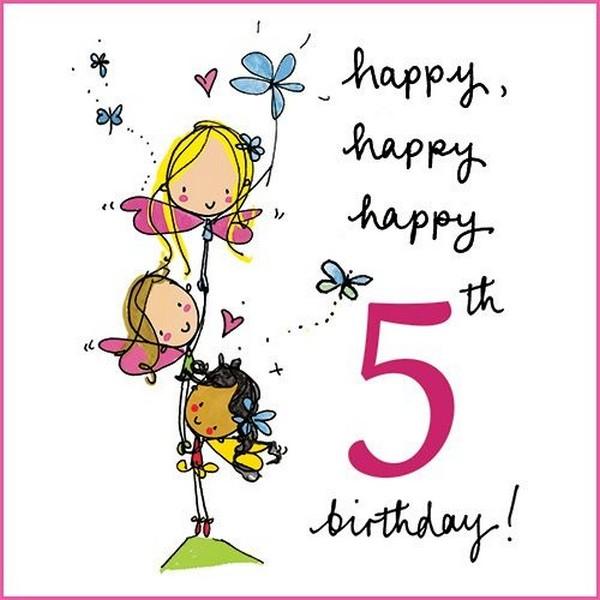 Happy Happy 5th Birthday 5th Birthday Wishes