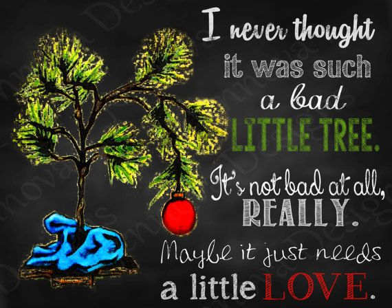 I Never Thought It Christmas Tree Quotes
