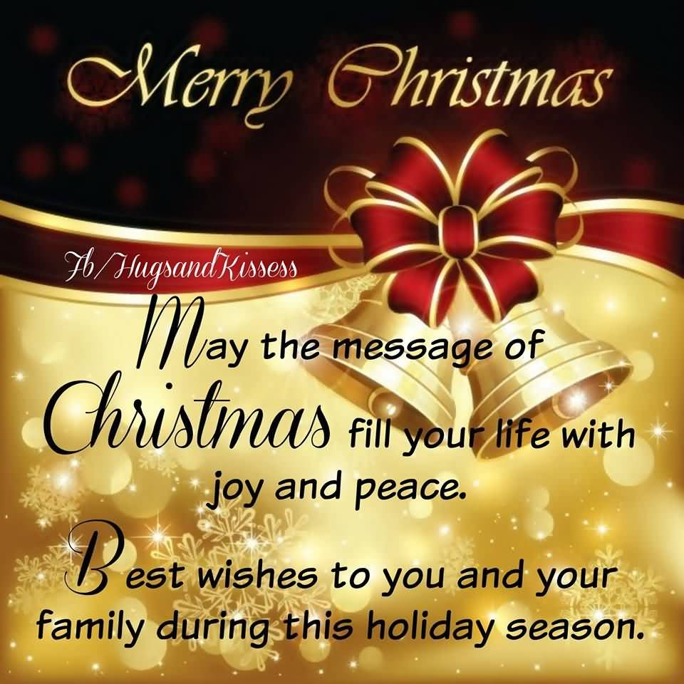 May The Message Of Christmas Advance Merry Christmas Quotes