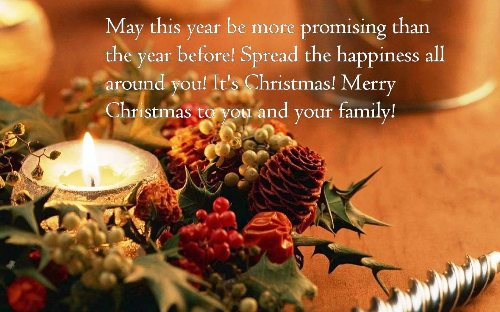 May This Year Be Advance Merry Christmas Quotes