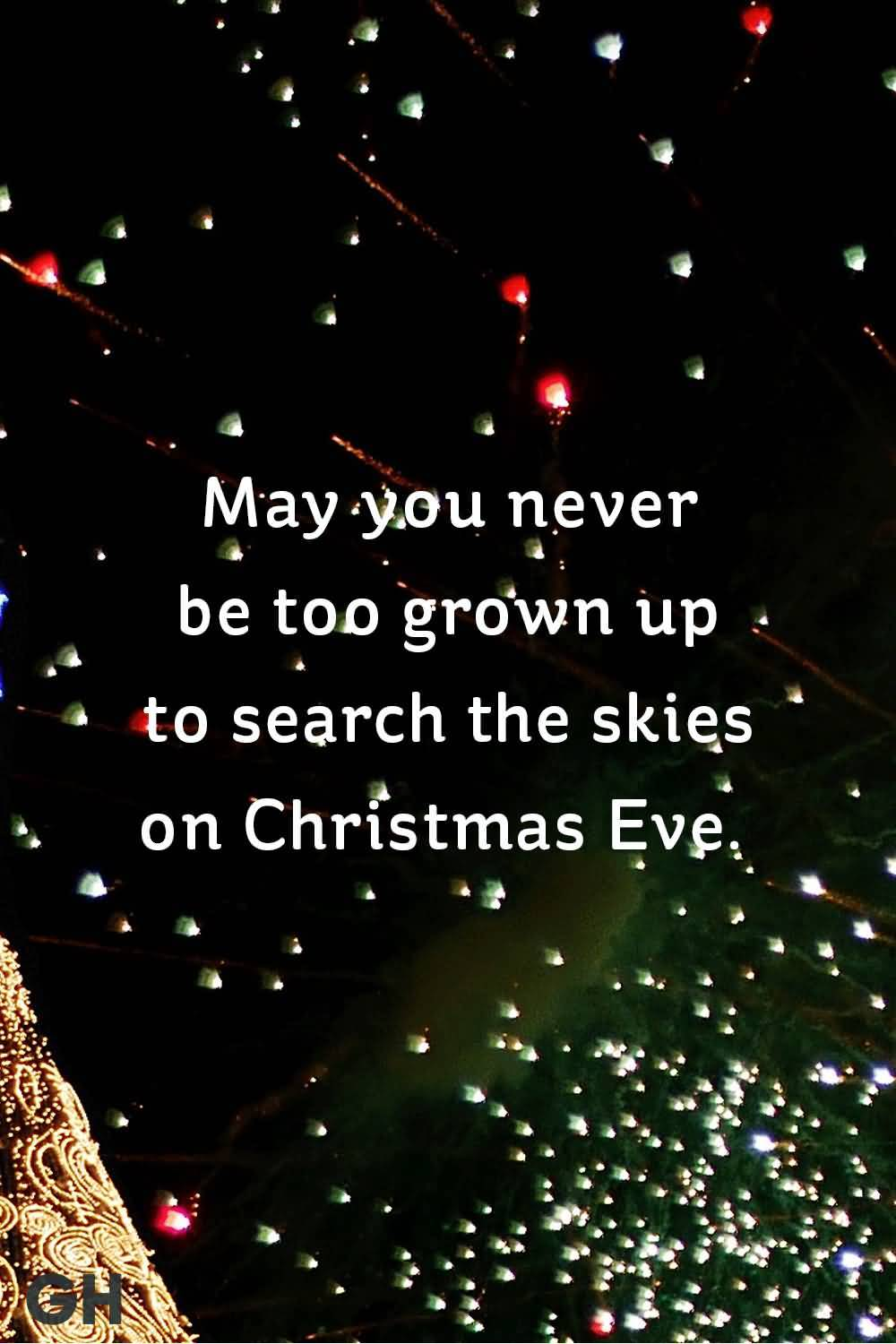 May You Never Be Christmas Tree Quotes