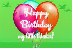 My Little Thinker 2nd Birthday Wishes