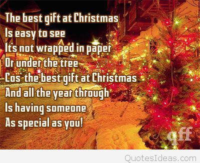 The Best Gift At Christmas Gift Quotes