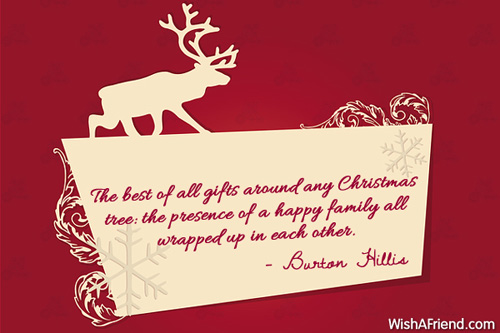 The Best Of All Gifts Around Christmas Gift Quotes