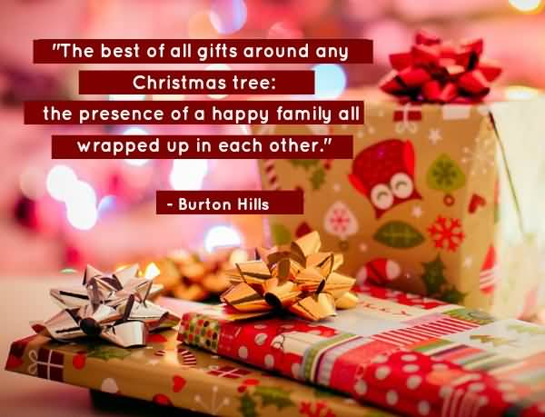 The Best Of All Gifts Christmas Gift Quotes