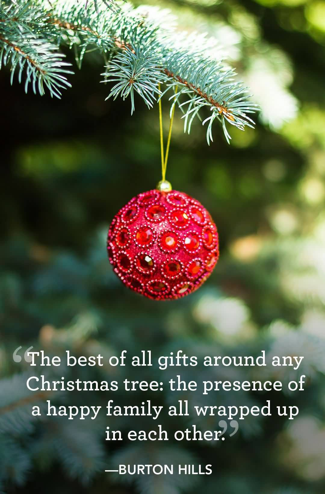 The Best Of All Gifts Christmas Tree Quotes