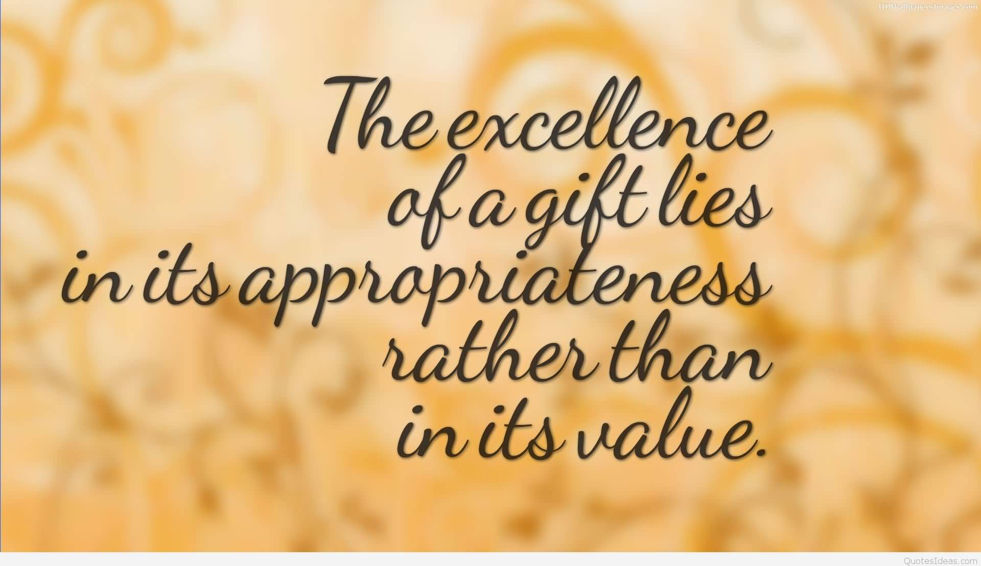 The Excellence Of A Christmas Gift Quotes