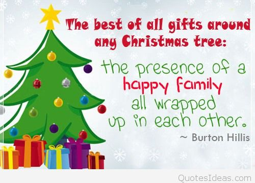 The Presence Of A Happy Christmas Tree Quotes