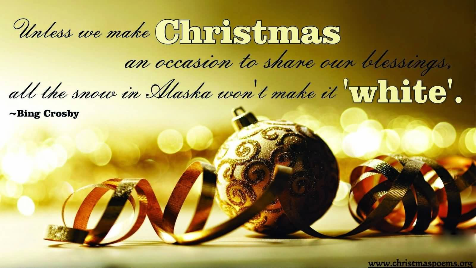 Unless We Make Christmas Advance Merry Christmas Quotes