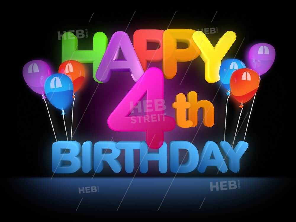 Wish You A Happy Birthday 4th Birthday Wishes
