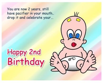 You Are Now Two 2nd Birthday Wishes