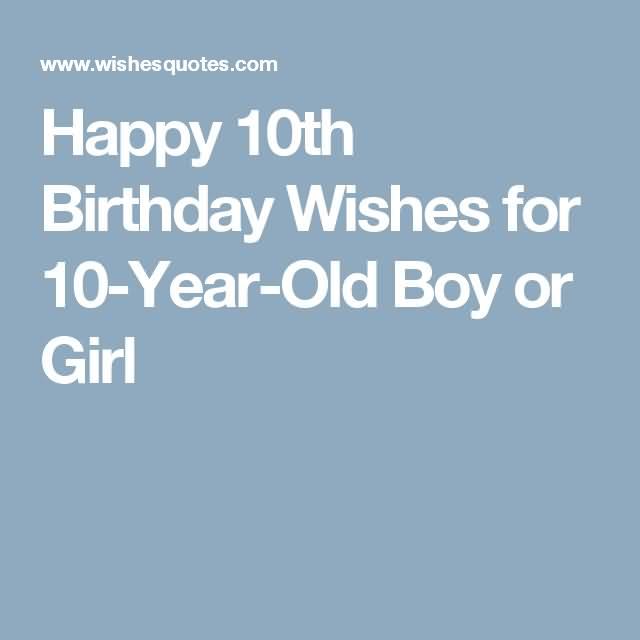 Amazing 10th Birthday Idea For Children