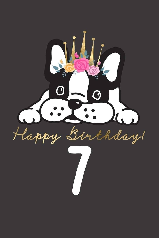 Amazing 7th Birthday Card For Children