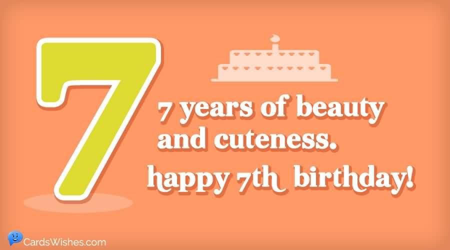 Amazing 7th Birthday Idea For Children