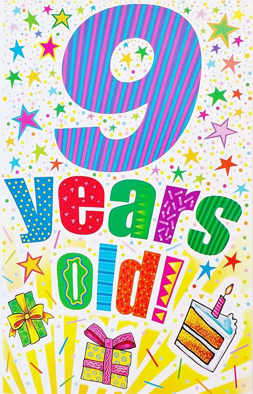 Amazing 9th Birthday Message For Children